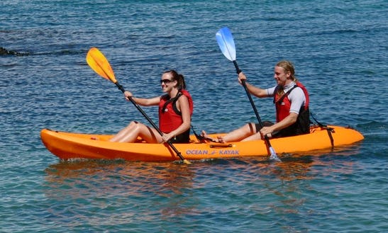Rent 1 Or 2 Person Kayak One Lake Tahoe