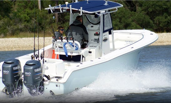 24ft Nautic Star Bay Boat Fishing Charter In Wilmington, North Carolina