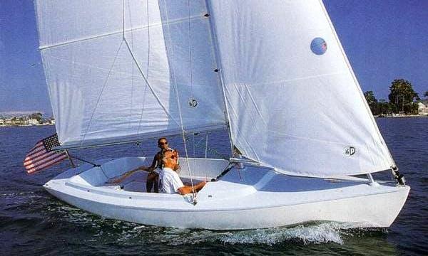 Harbor 20 Sailboat Rental in Coral Gables