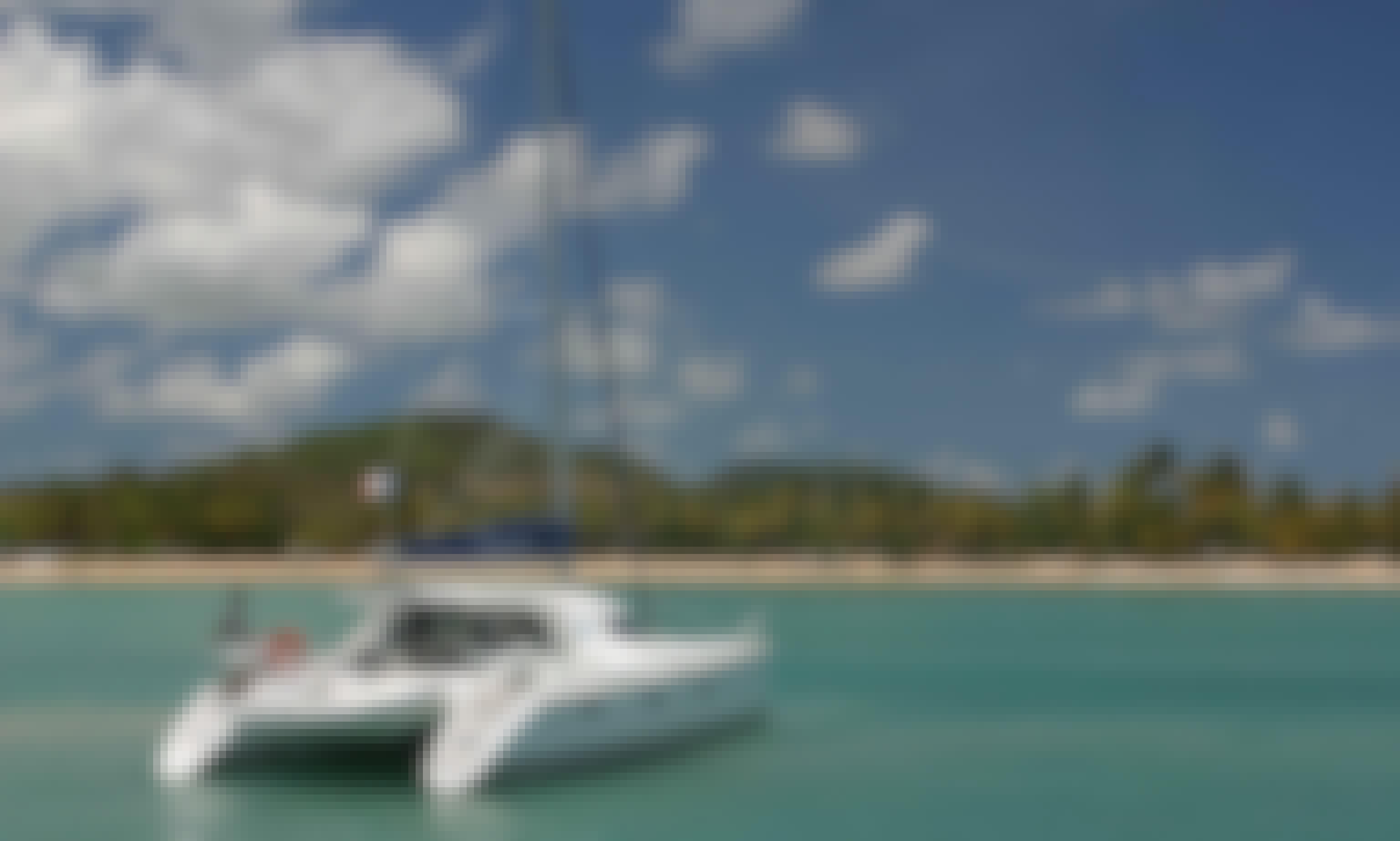 Charter 40' Cruising Catamaran in Athens