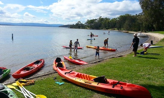 Double Kayaks For Hire At Cams Wharf