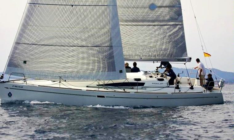 Captained Charter on Elan 410 Sailing Yacht in Hamble-le-Rice