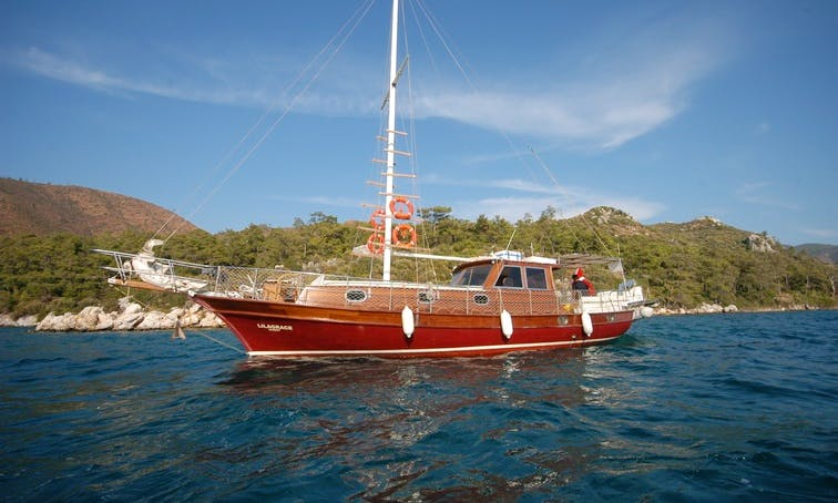 "Sail with the beautiful ""Grace"" Gulet from Marmaris, Turkey"