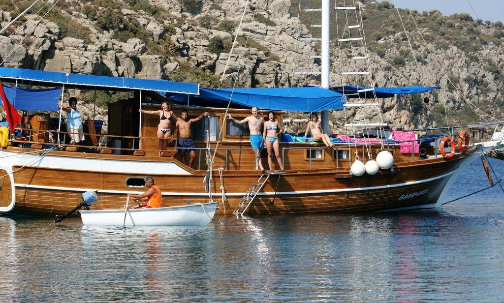 "Captained Charter aboard the ""Garip"" Sailing Gulet in Marmaris"