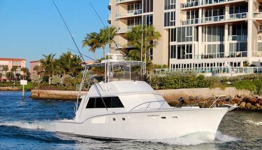 53' Sport Fisherman Charter - Haterras  53 In Pompano Beach, Florida