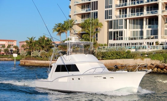 53' Sport Fisherman Charter In Pompano Beach, Florida