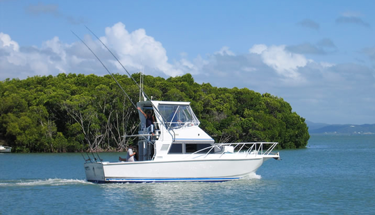 Fishing Charters - 34ft Cairns Custom Craft In North Queensland