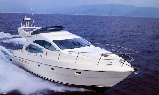 Motor Yacht 44' Palmyra For Charter In Voula