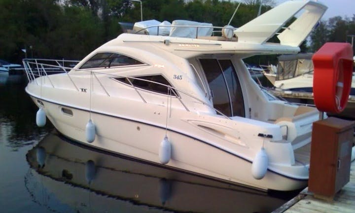 Charter Sealine F34 Motor Yacht in Nice