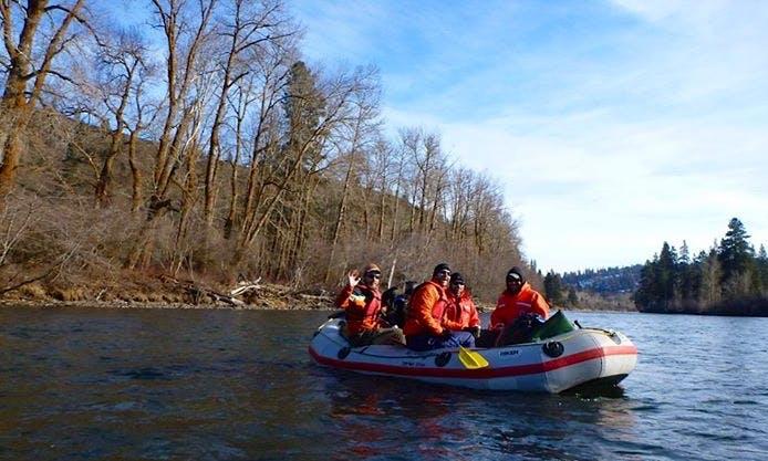 11' Raft Rental in Yakima River, Washington