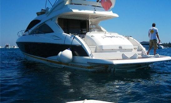 Sunseeker 66 Yacht Charter In Nice