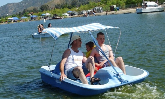 Paddle Boat Rental On Lake Elsinore