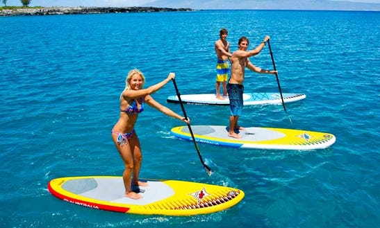 Paddleboard Rentals And Lessons In Punta Hermosa