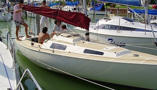 Sailing Charter For 6 People In Siófok, Hungary