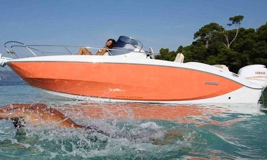 Cruise Along The Trogir, Croatia With This Key Largo 24 Center Console