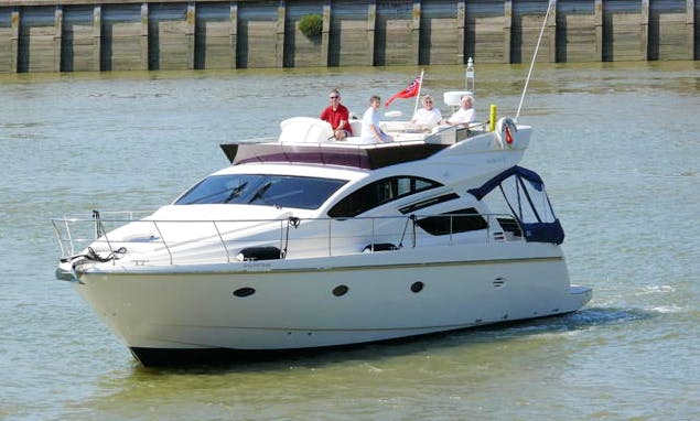 Rodman Muse 44 Motor Yacht Charter in Chatham