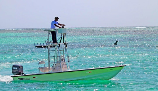 24ft Pathfinder Fishing Charter From Punta Cana, Dominican Republic