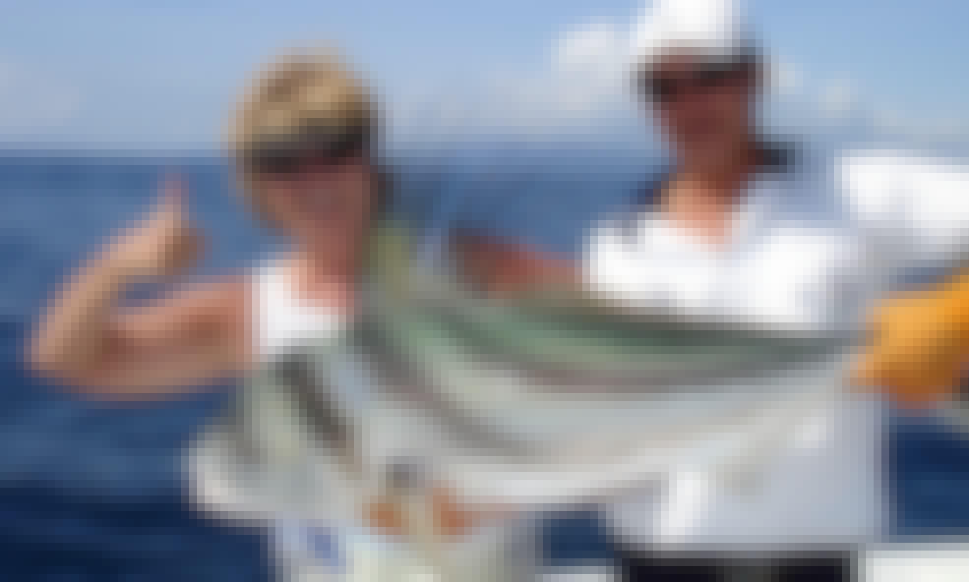 "Sport Fishing Charter on ""Boo-Lo"" in Golfito, Costa Rica"