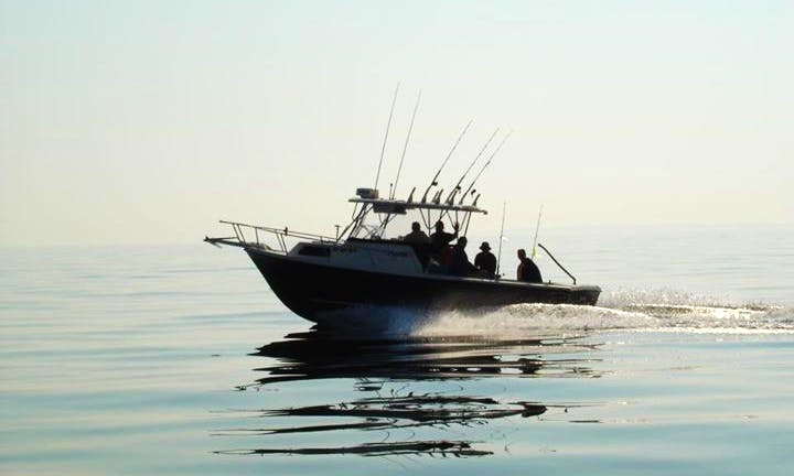 Enjoy this 25' Sport Fisherman Charter in Fairhaven, Massachusetts