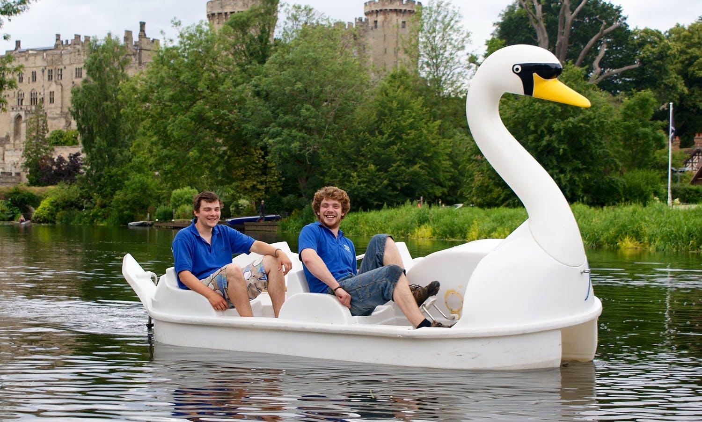 Pedalo Hire Paddle Boat in Warwick, United Kingdom