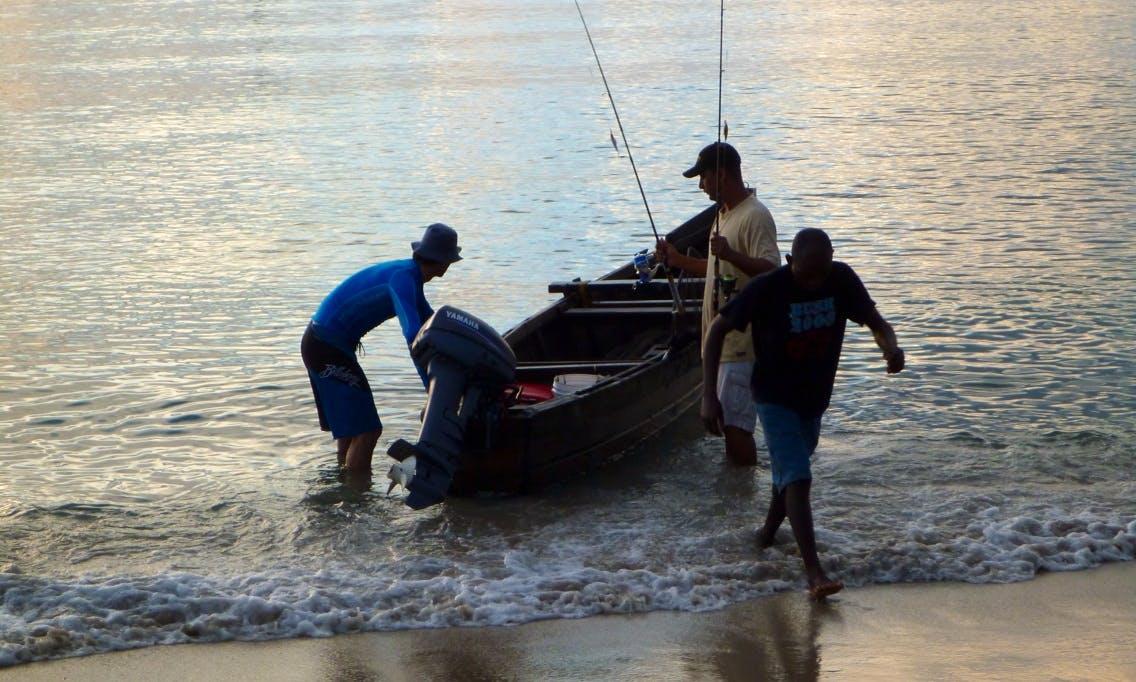 Shwari Reef Fishing Boat in Pagani, Tanzania