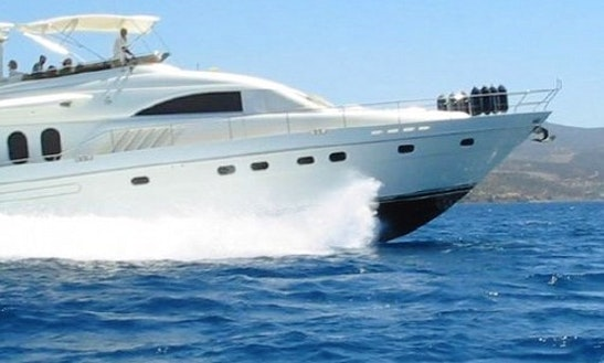 Charter Princess Power Mega Yacht In Eilat, Israel On The Red Sea