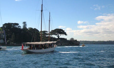 """Charter 1903 Schooner """"Boomerang"""" in Sydney, Australia"""