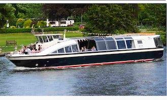 """Charter on 58ft """"The Hibernia"""" Passenger Boat in Henley-on-Thames, England"""