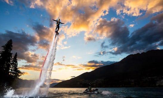 Learn To Flyboard In Queenstown, New Zealand