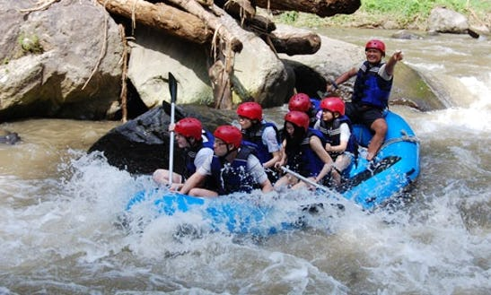 Rafting The Ayung River In Bali, Indonesia