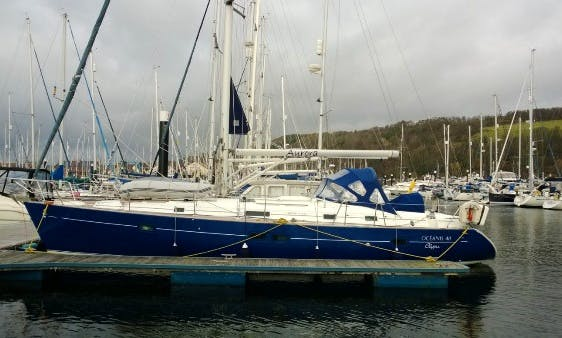 Charter Oceanis 411 Sailboat in Largs, Scotland