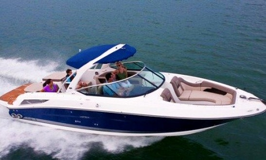 Searay Boat Rental In Jolly Harbour