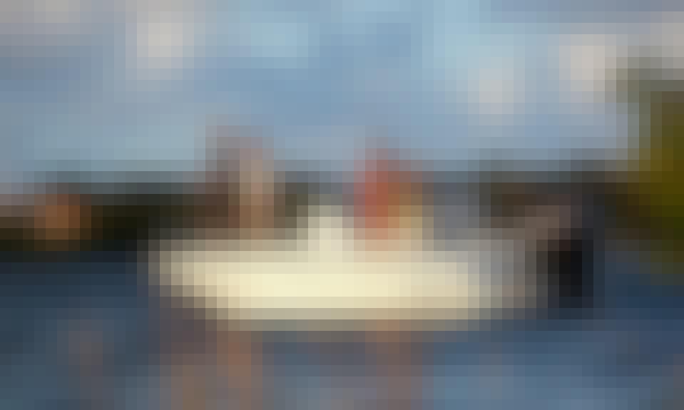 Boston Whaler Boat Rental in Jolly Harbour, Antigua & Barbuda