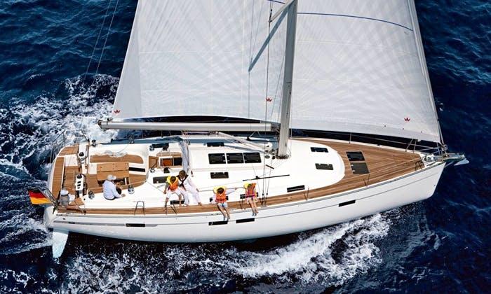 Charter Bavaria 45 Cruiser in Largs, Scotland