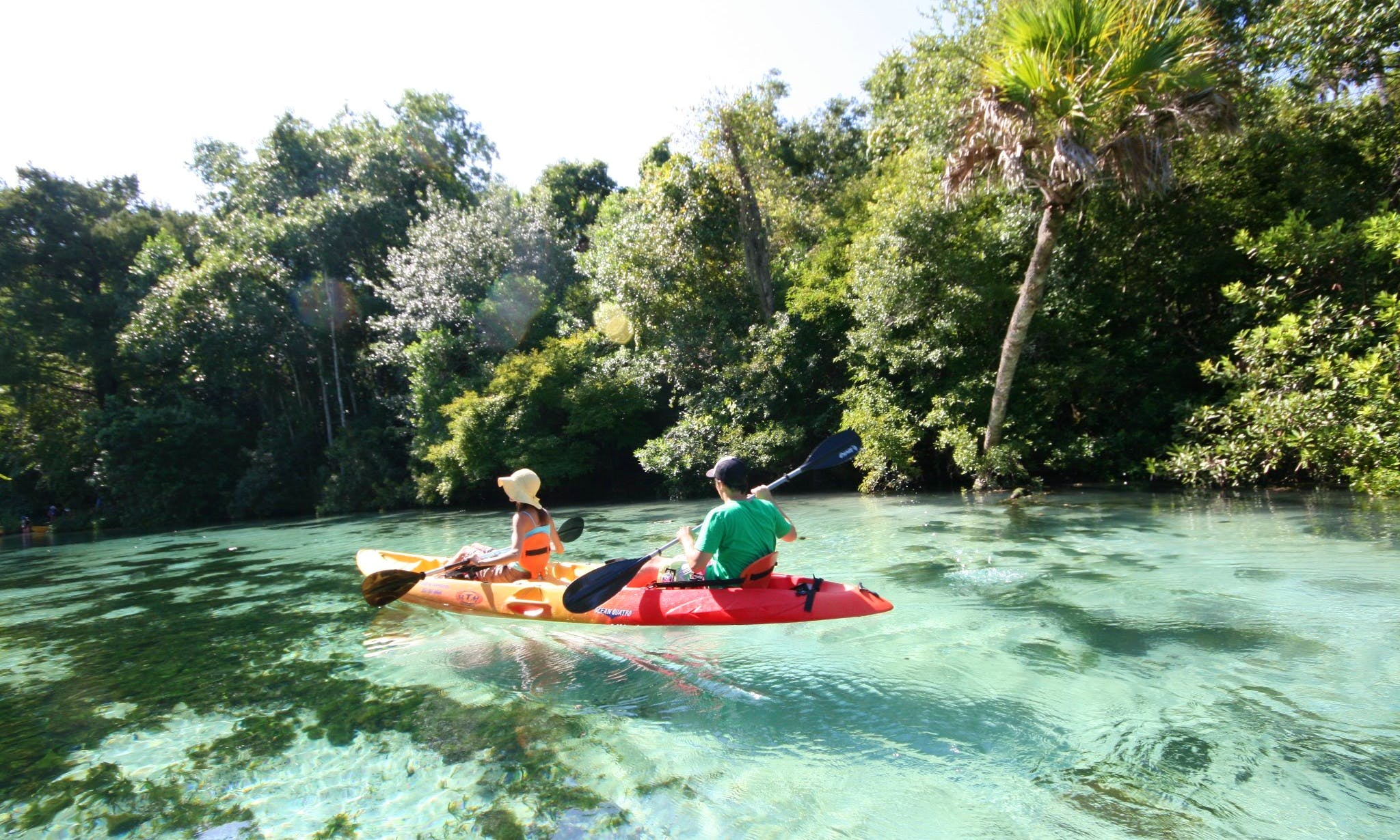Kayak & Canoe Rentals from Spring Hill, Florida at Weeki Wachee State Park