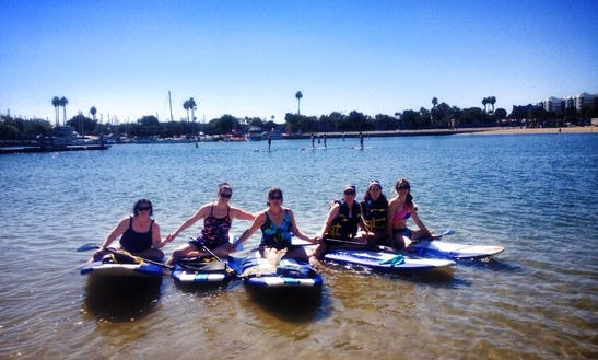 Stand Up Paddle Board Rentals & Lessons Los Angeles