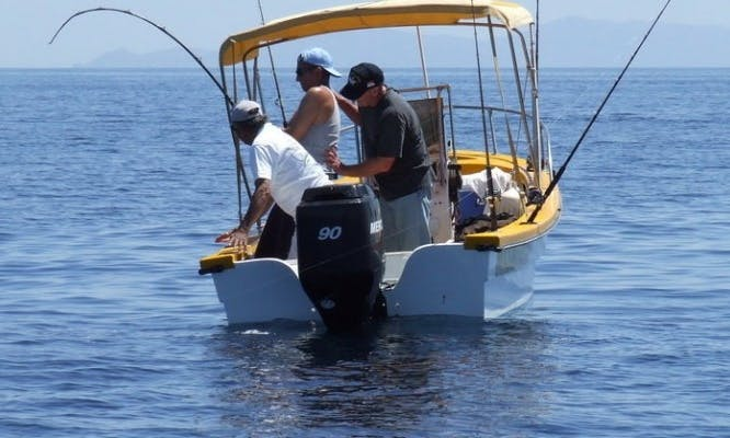"Fishing Charter On ""Loreto"" in Cabo San Lucas, Mexico"