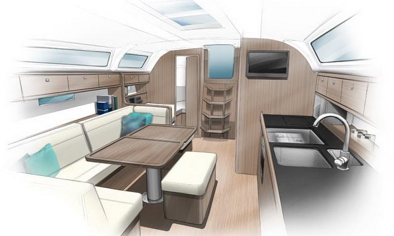 Charter Bavaria 41 Cruiser in Trogir