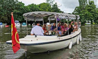 Self Drive and Chauffeured Electric Boat in Henley-on-Thames, England