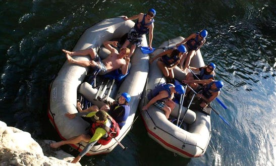 Rafting Boat Rental On Cetina River