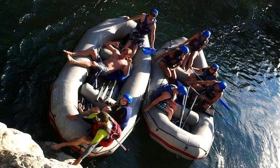 Rafting Boat Rental On Cetina River
