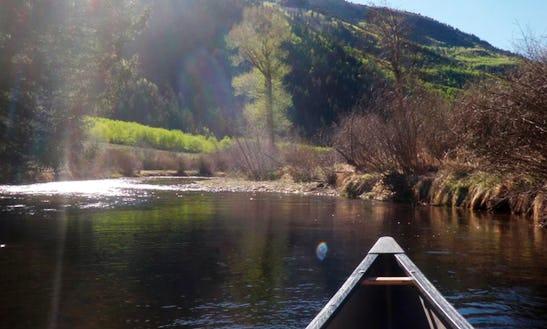 North Star Nature Preserve Flatwater Canoeing Adventure In Aspen, Colorado