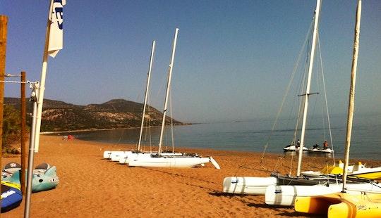 Dart 16 Catamaran Rental In Cyprus, Poli Crysochous