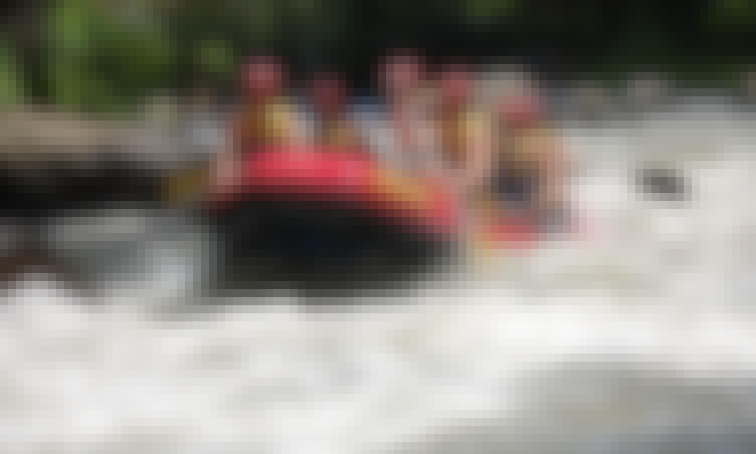 Telaga Waja River Rafting in Indonesia