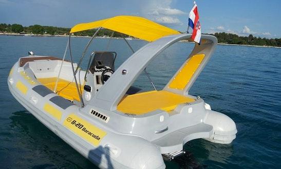 Baracuda Mercruiser 136 Deck Boat In Rovinj
