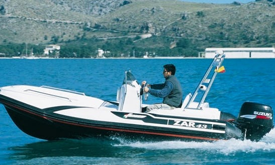 Rib Zar 43 Rental In Puntaldia