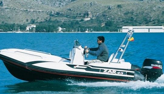 Rib Zar 43 Rental In Puntaldia
