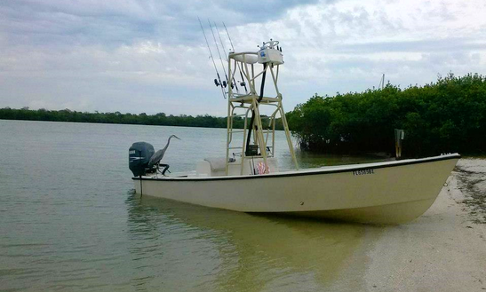Fishing Charer On 22' Aquasport Center Console In Bokeelia, Florida