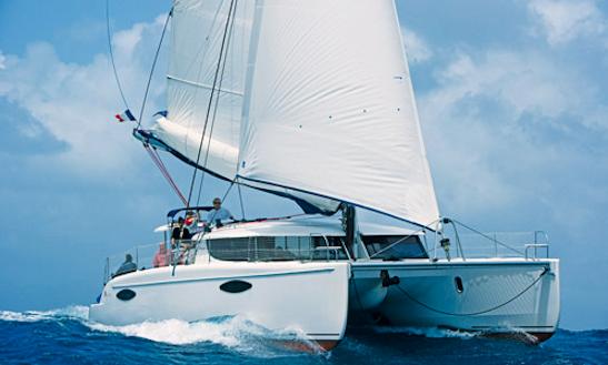 44' Charter Orana Catamaran In Le Marin