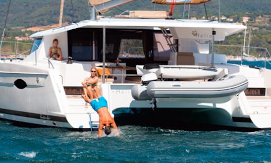 Caribbean 44' Cruising Catamaran Charter In Le Marin